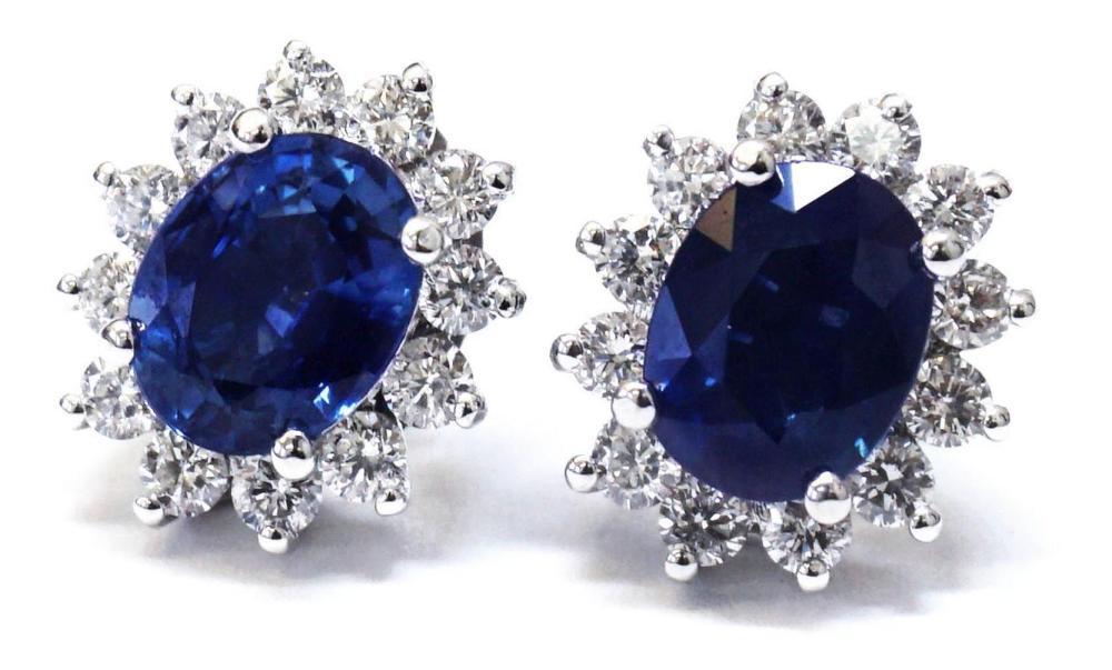 Sapphires 4.45 carats