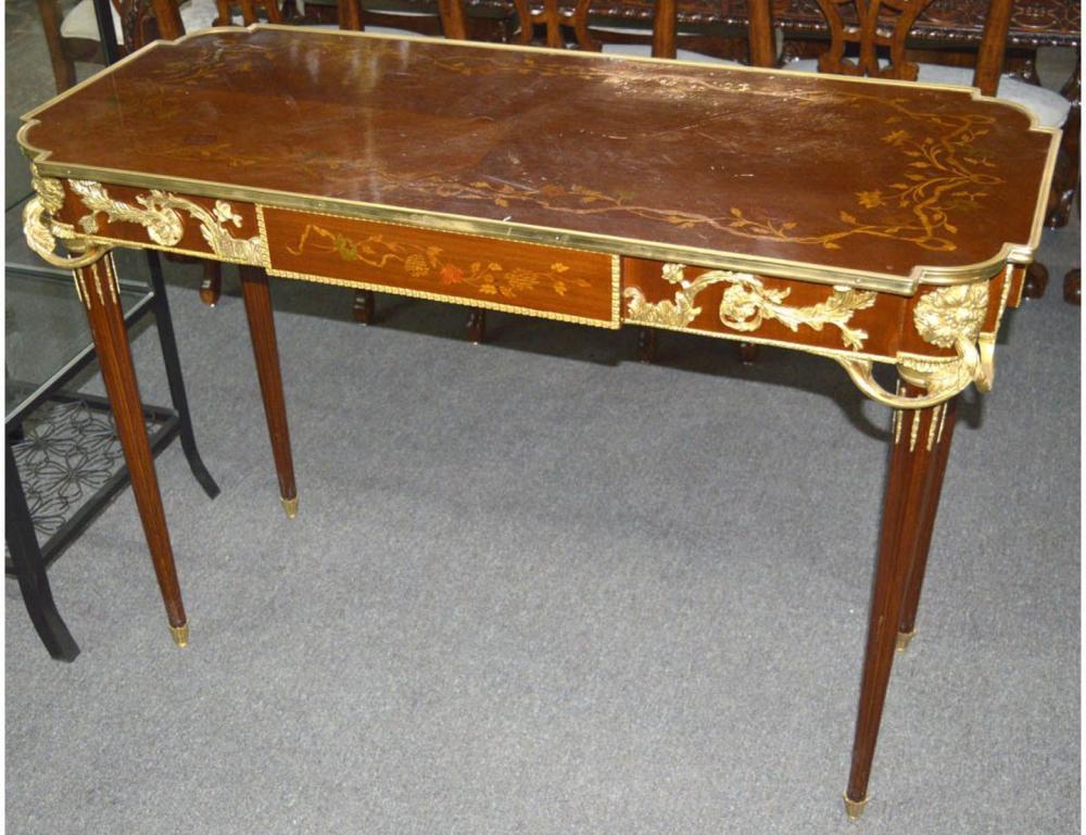 Louis XVI-style salon table