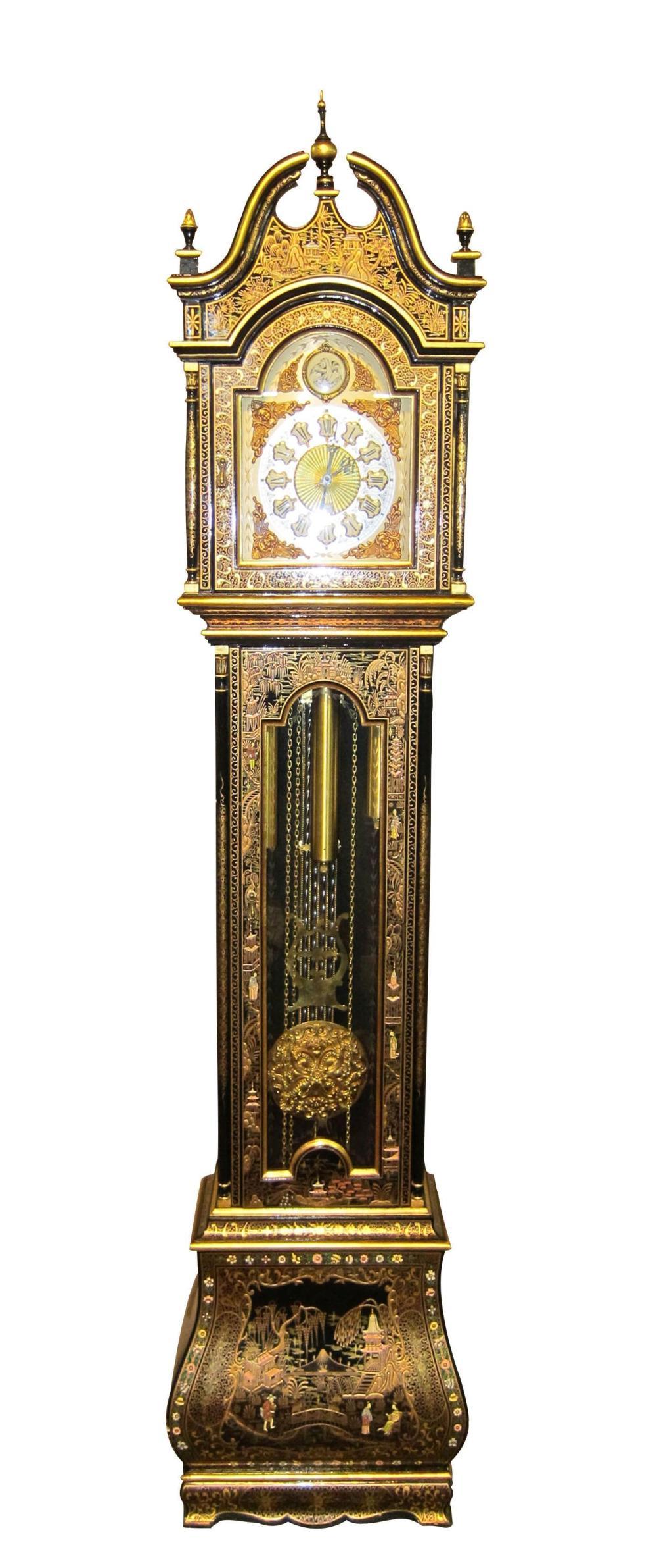 Chinese grandfather clock