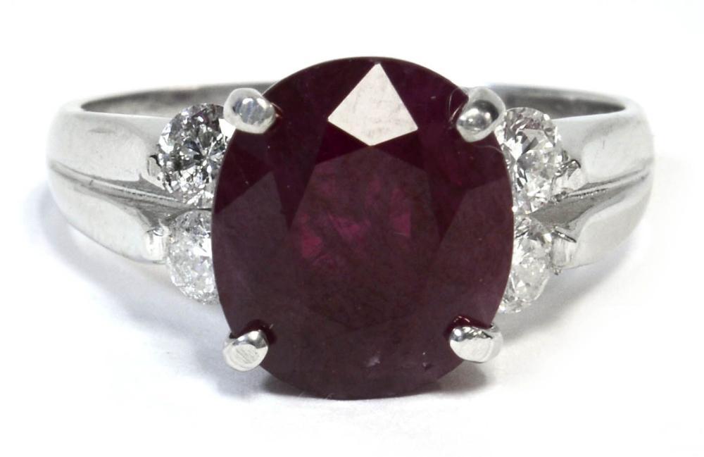 Ruby 4.49 carat