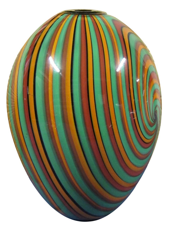 Murano blown glass vase