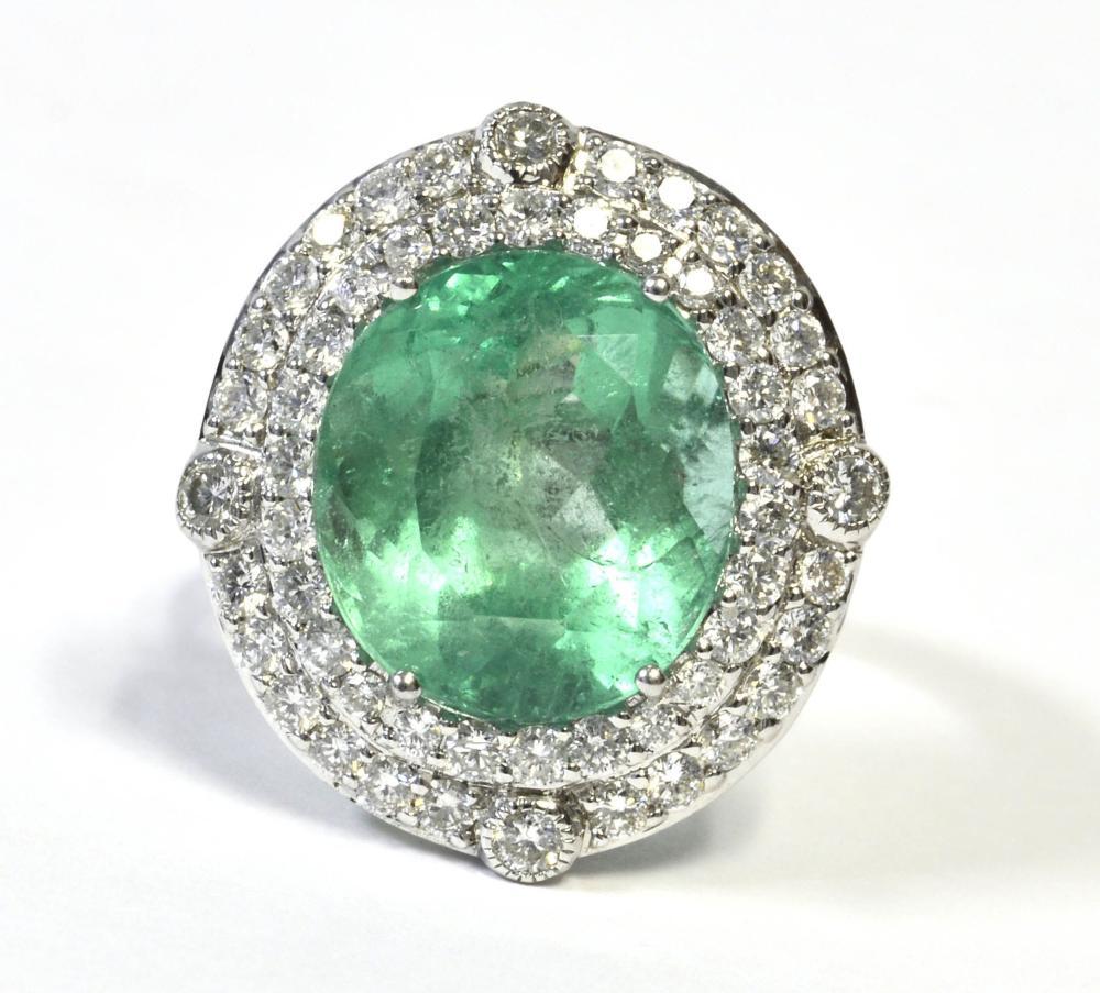 Emerald 8.12 carat