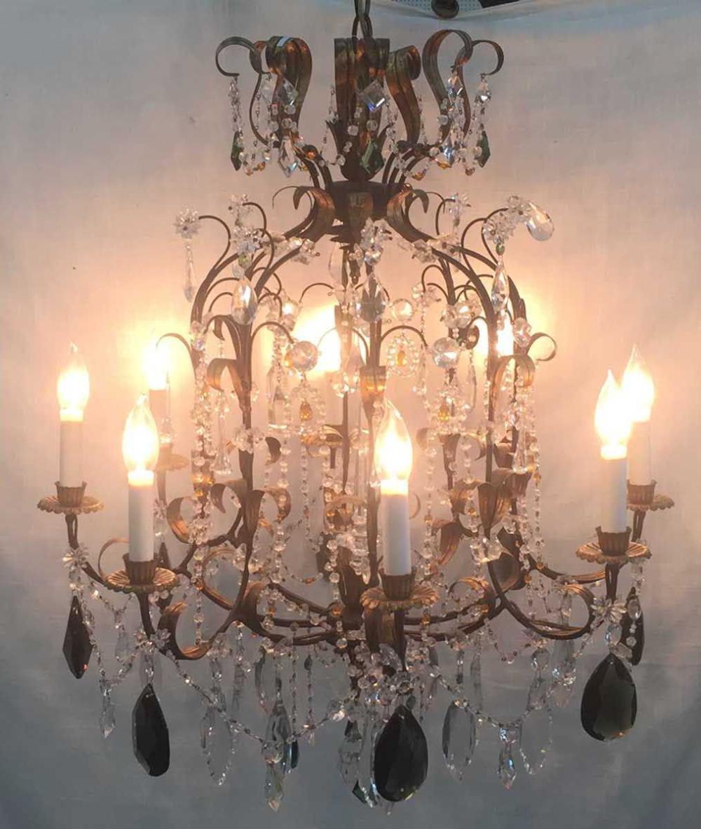 8-light chandelier