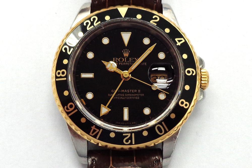 Gentleman's 18 karat gold Rolex