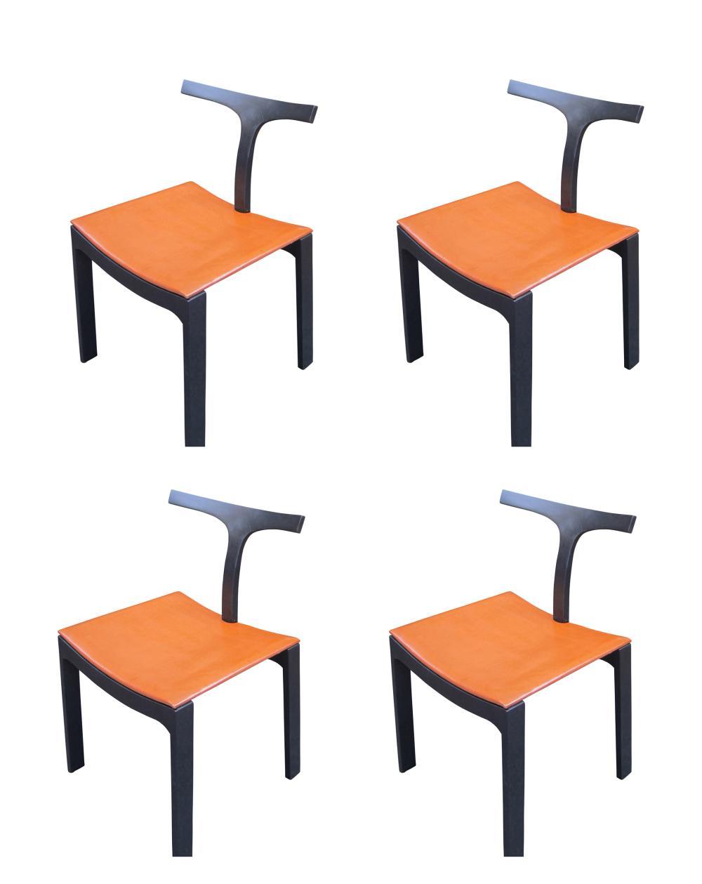 4 vintage Italian chairs