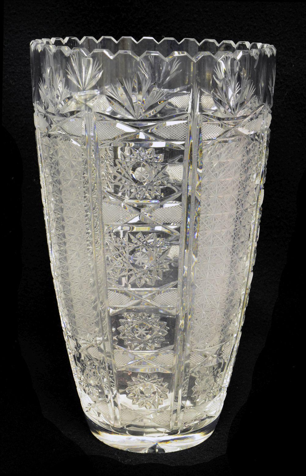 Val Saint Lambert vase