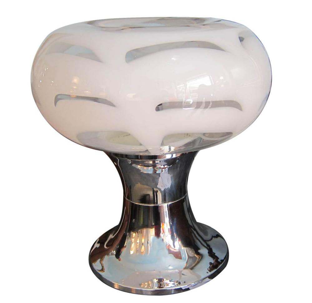 Vintage Murano glass table lamp