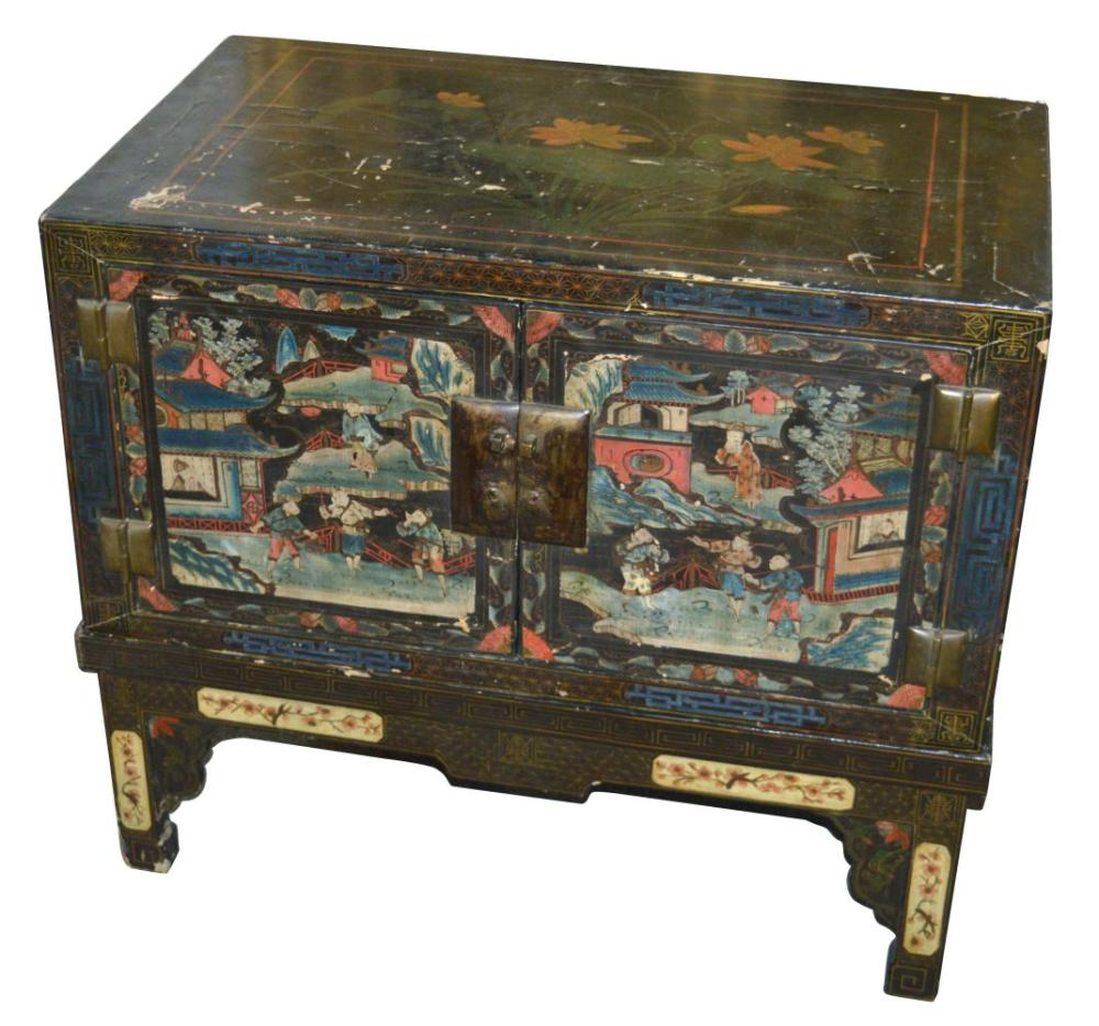 Lot 59: Chinese low cabinet