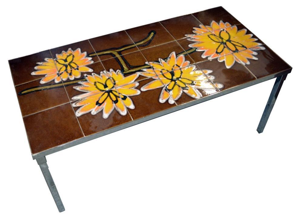 Lot 163: European coffee table