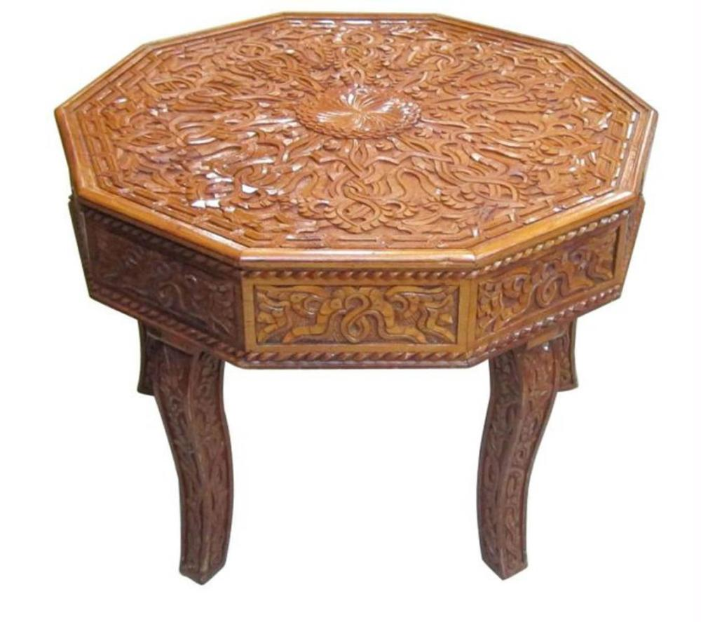 Lot 177: Indian salon table