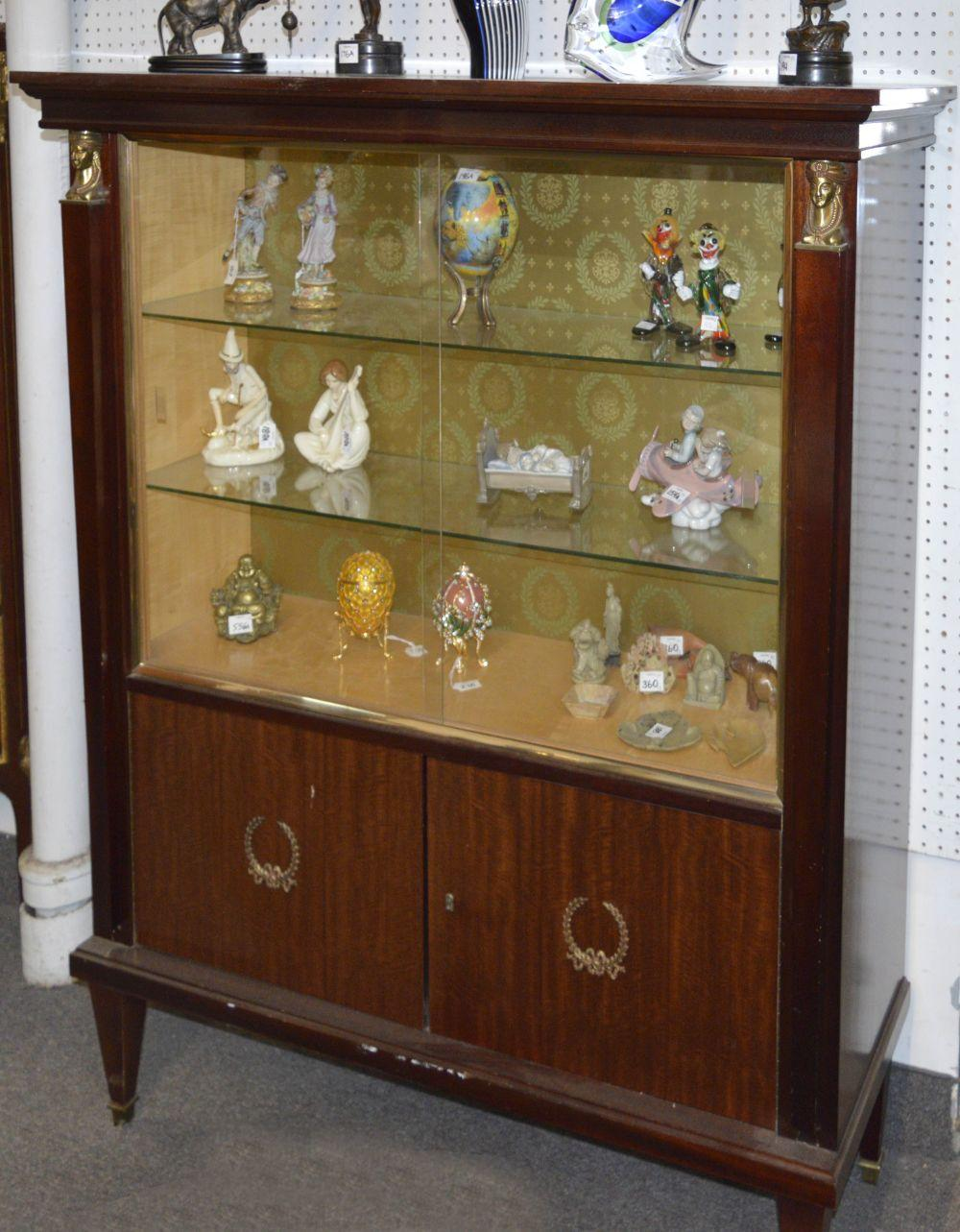 Lot 157: Empire style cabinet