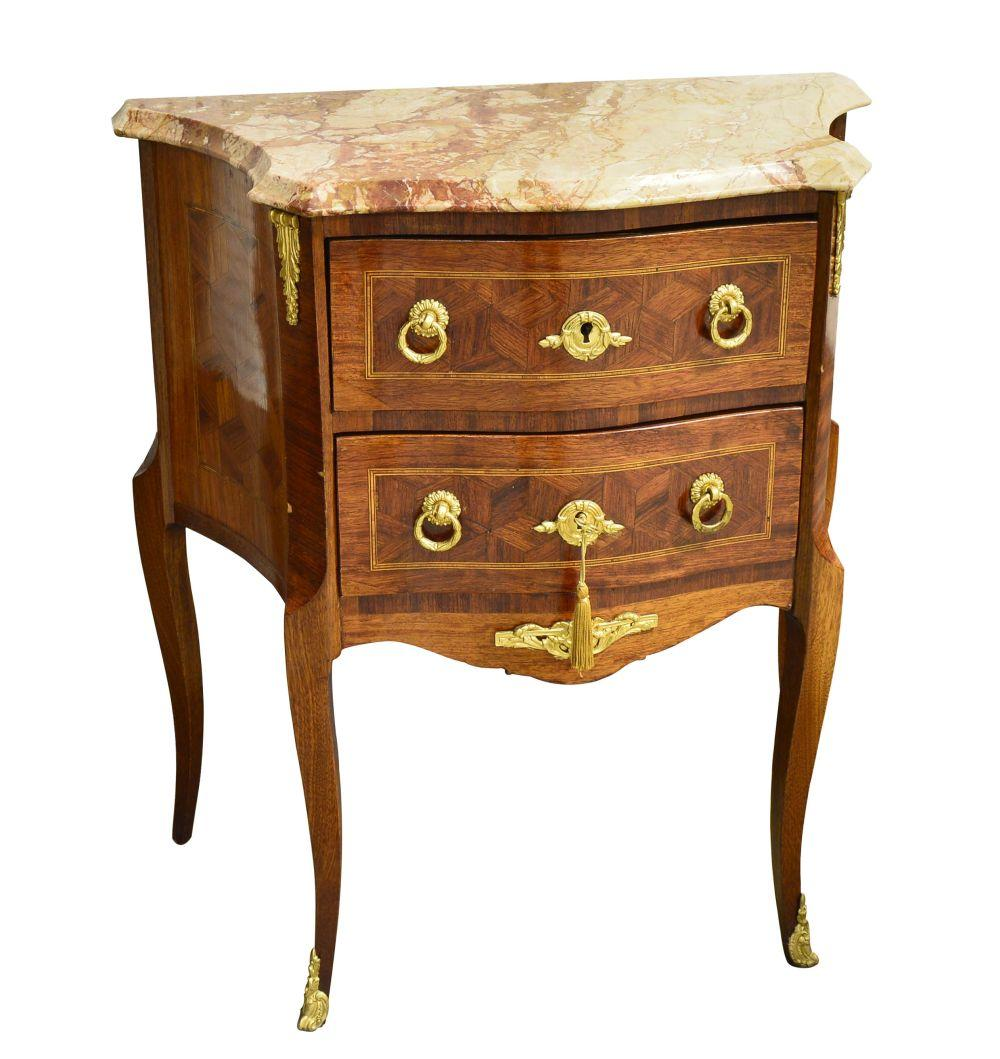 Small vintage Louis XVI-style commode