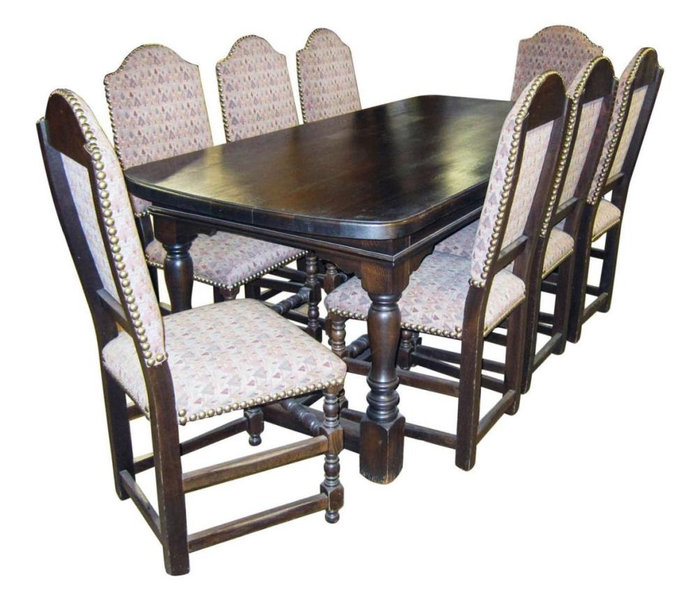 European 9-piece dining set