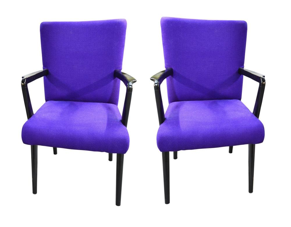 Pair of Mid Century armchairs