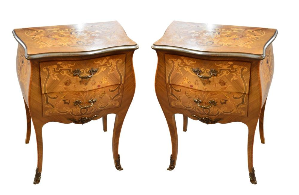 Pair of vintage Italian side tables