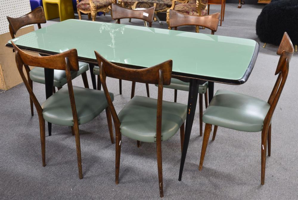 Italian design 7-piece dinette set