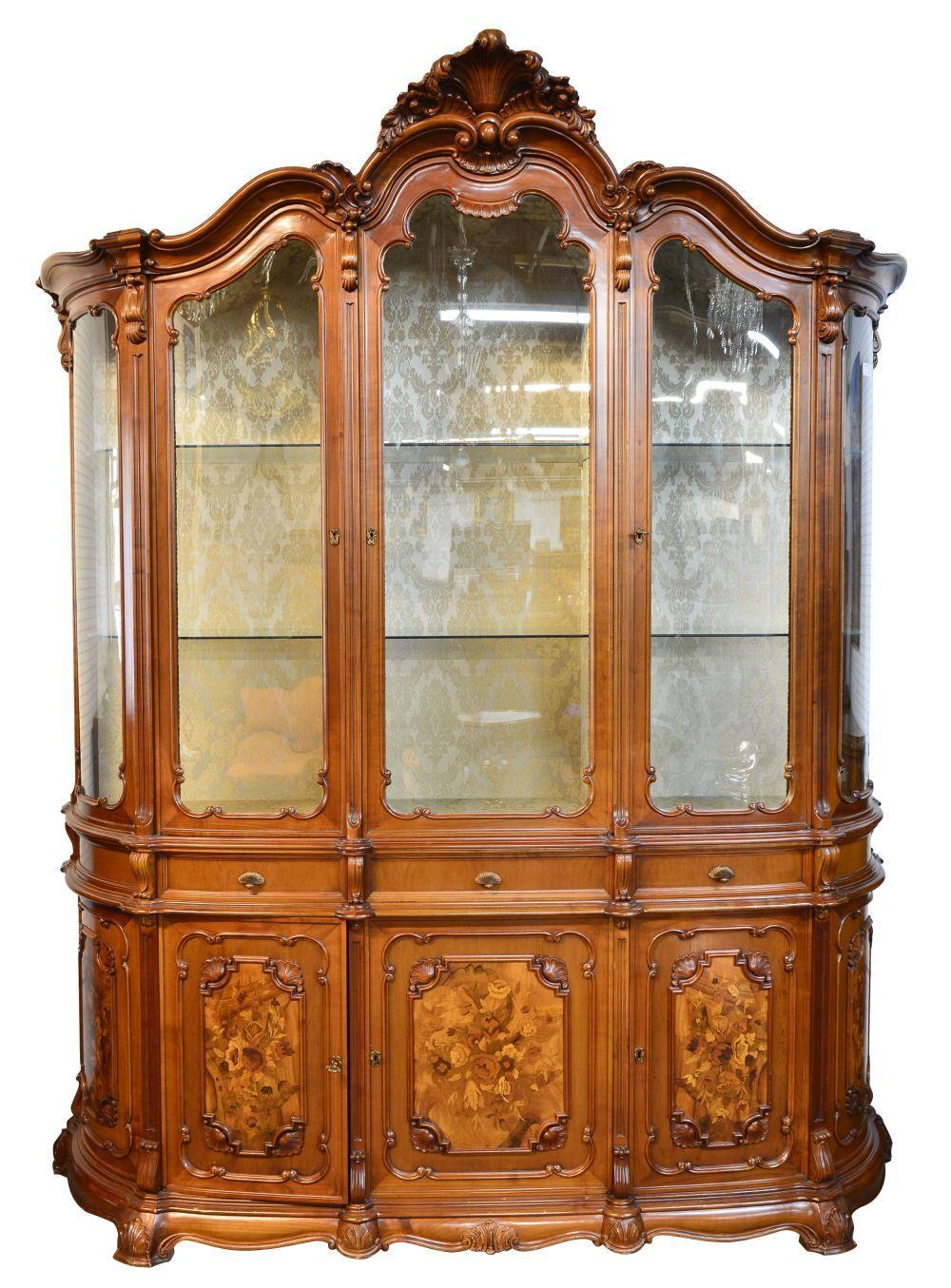 Vintage Italian china cabinet