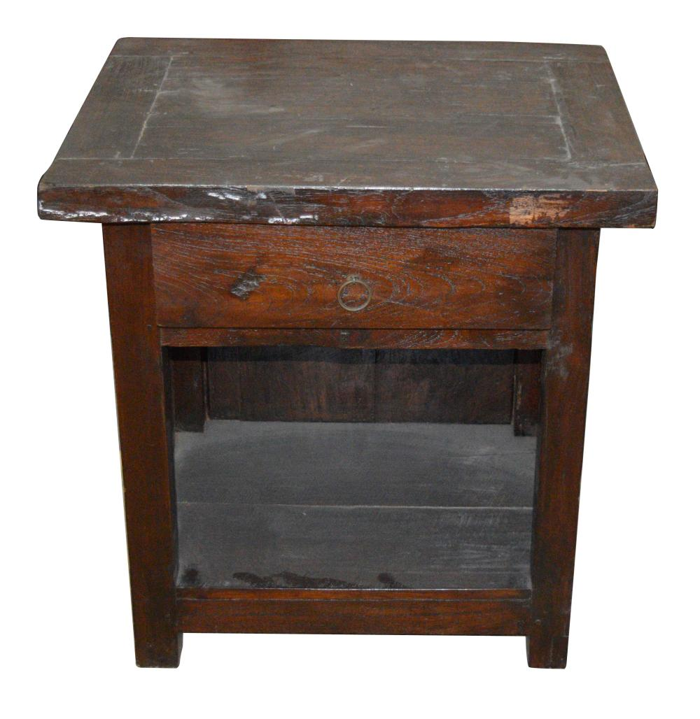 Lot 197: 2-tier occasional table