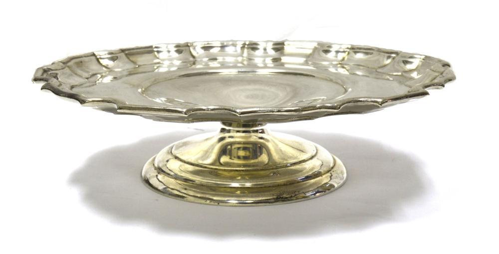 Birks sterling silver serving plate