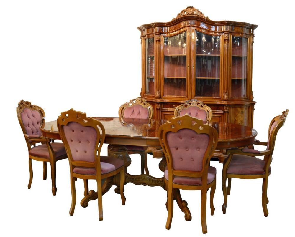 8-piece dining suite