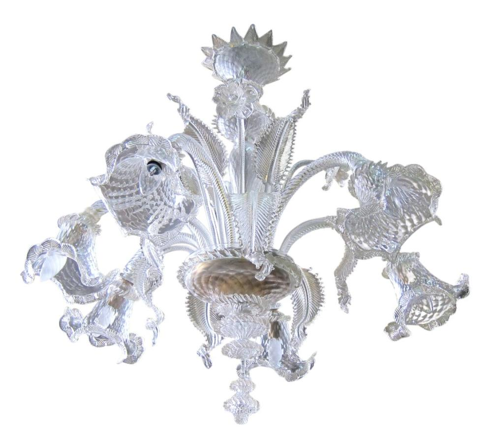 Murano 6 light hanging fixture