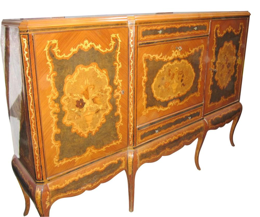 Inlaid buffet