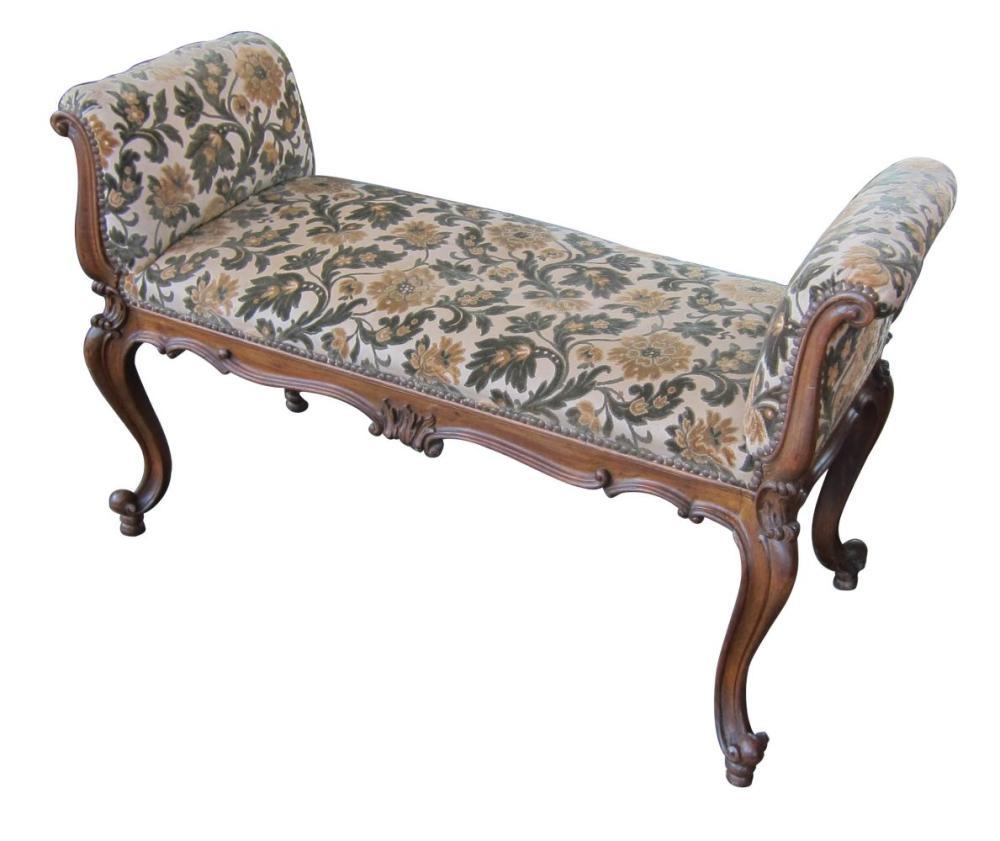 Vintage Louis XV-style bench