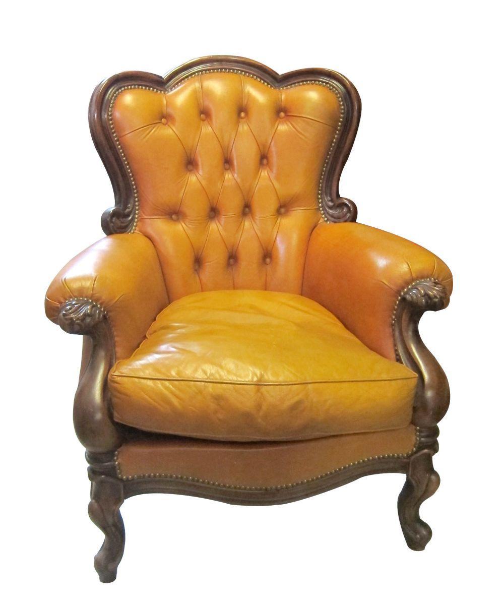 Italian Louis XV-style armchair