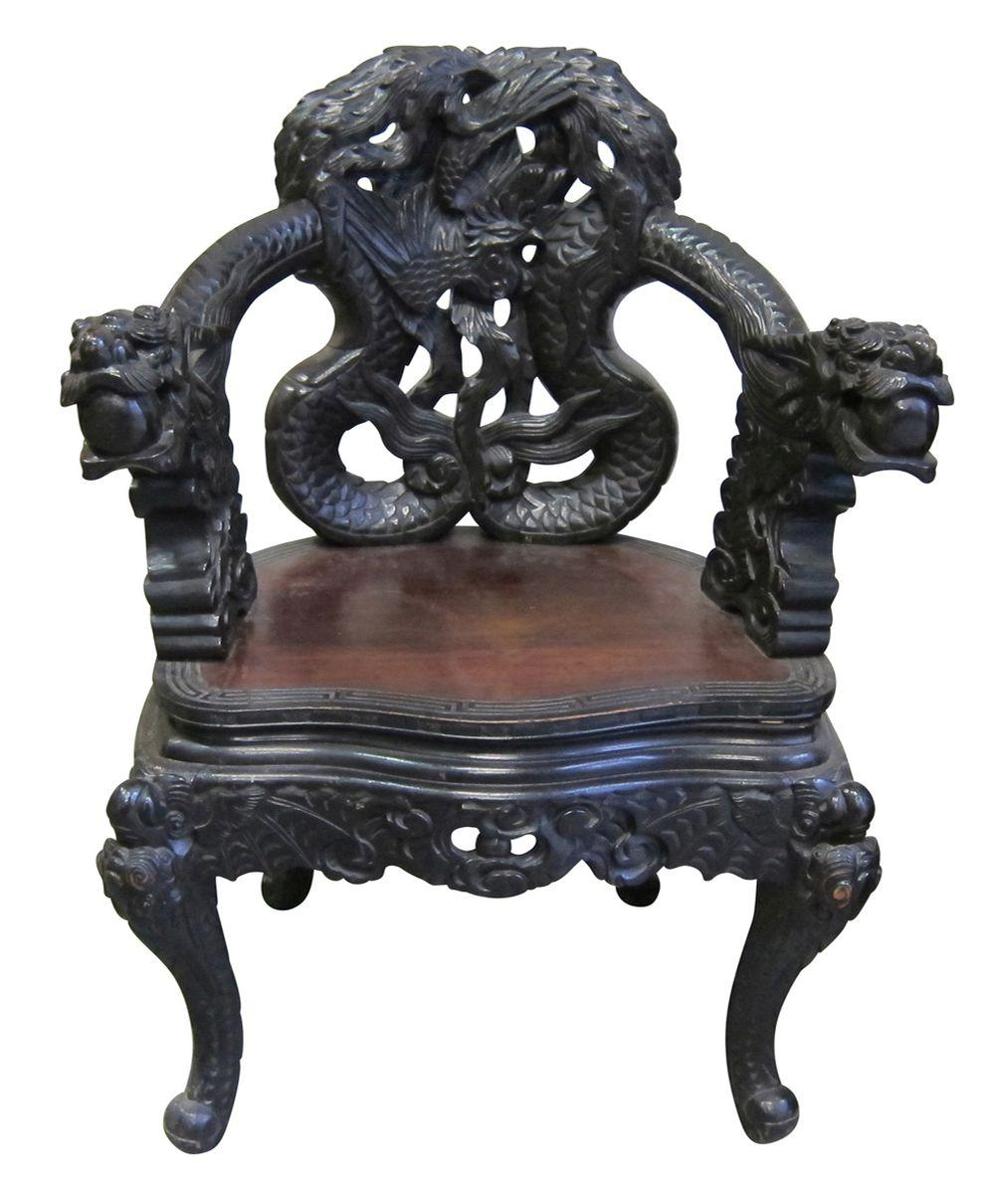 Japanese emperor chair