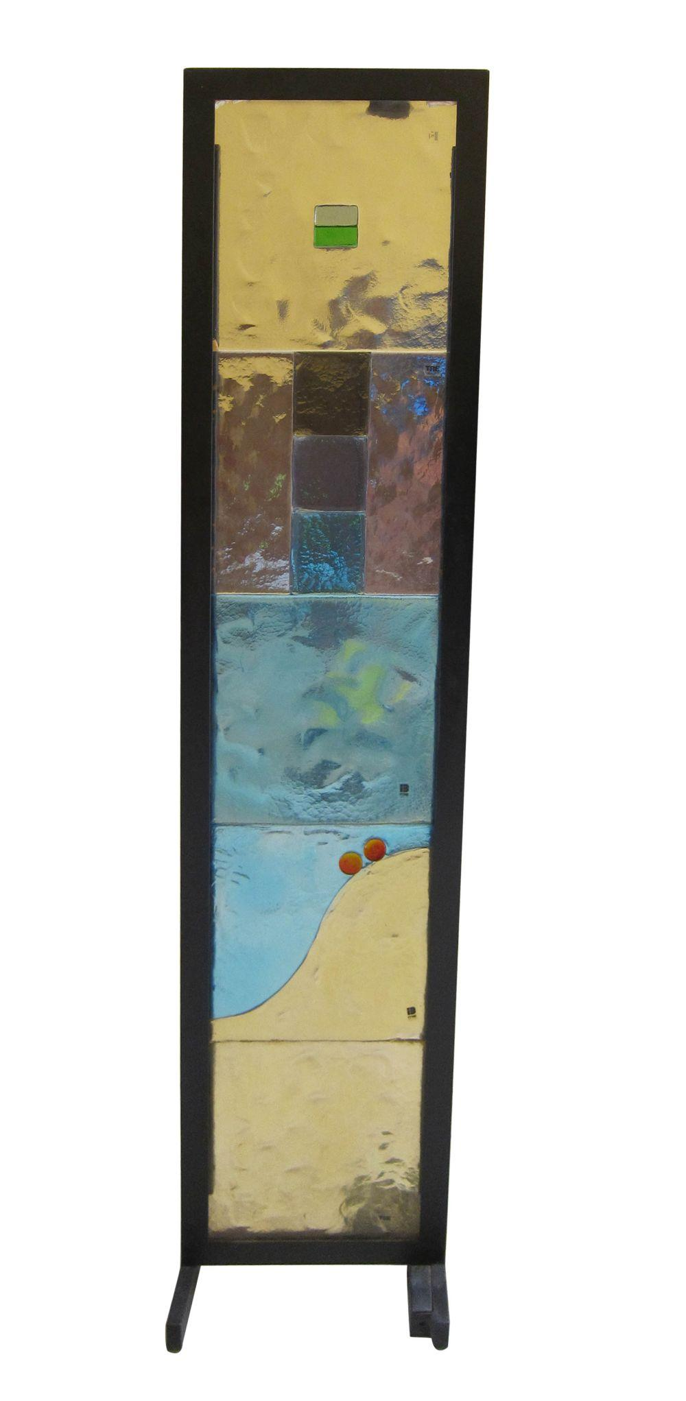 Vintage Murano glass panel