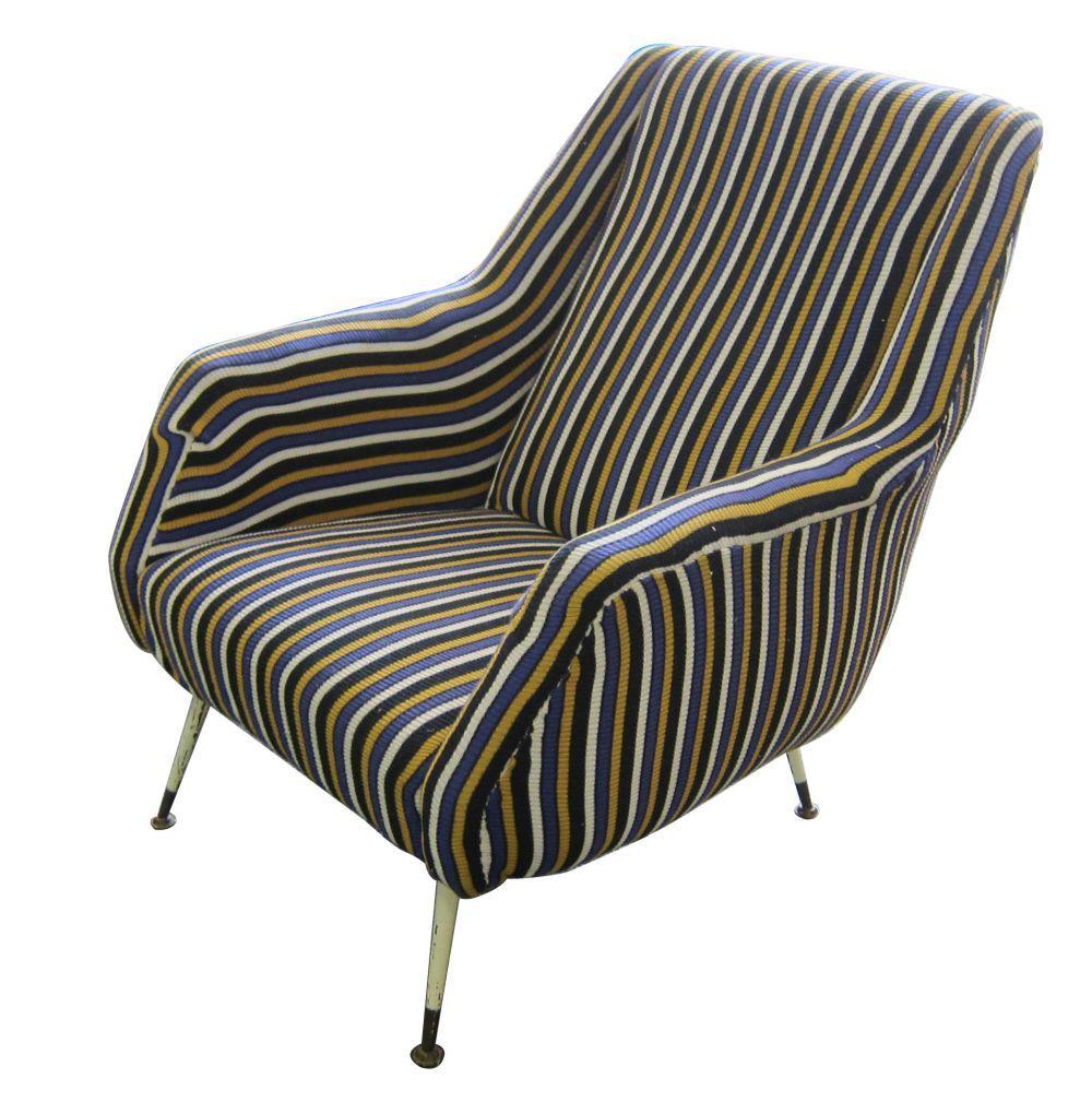 "Vintage Italian design ""Artflex"" armchair"