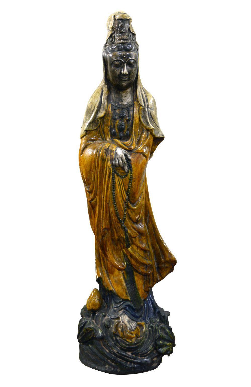 Antique Chinese ceramic sculpture