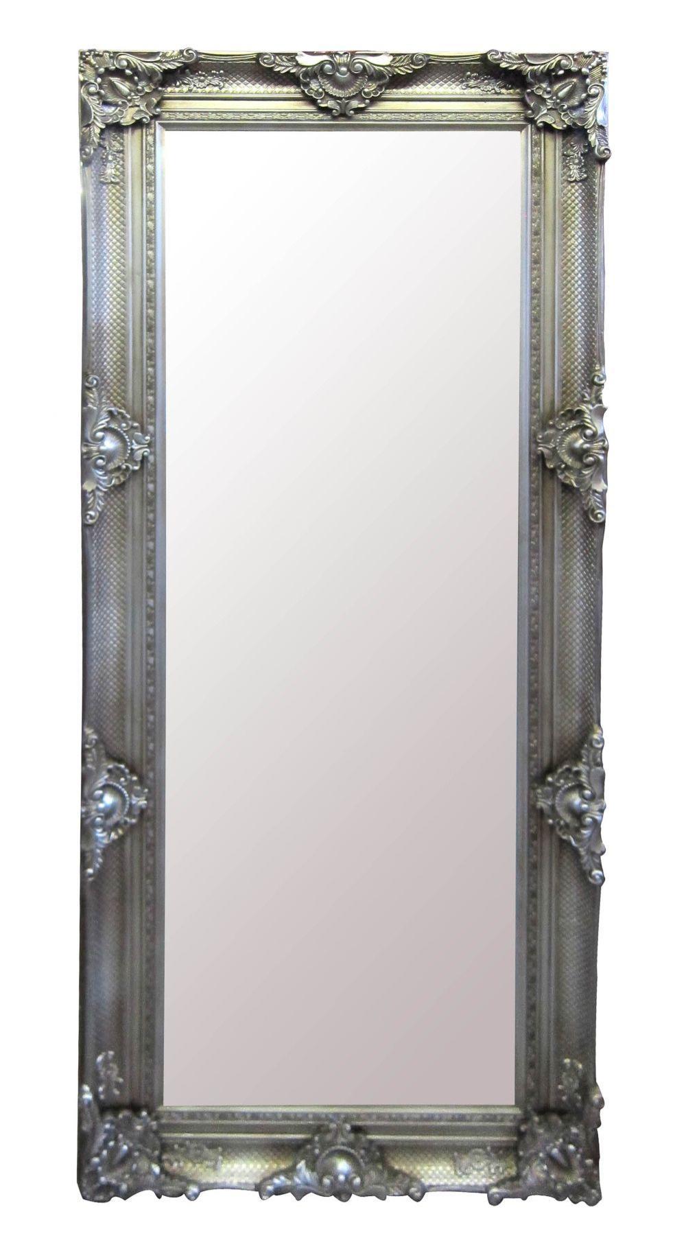 Wood-framed mirror