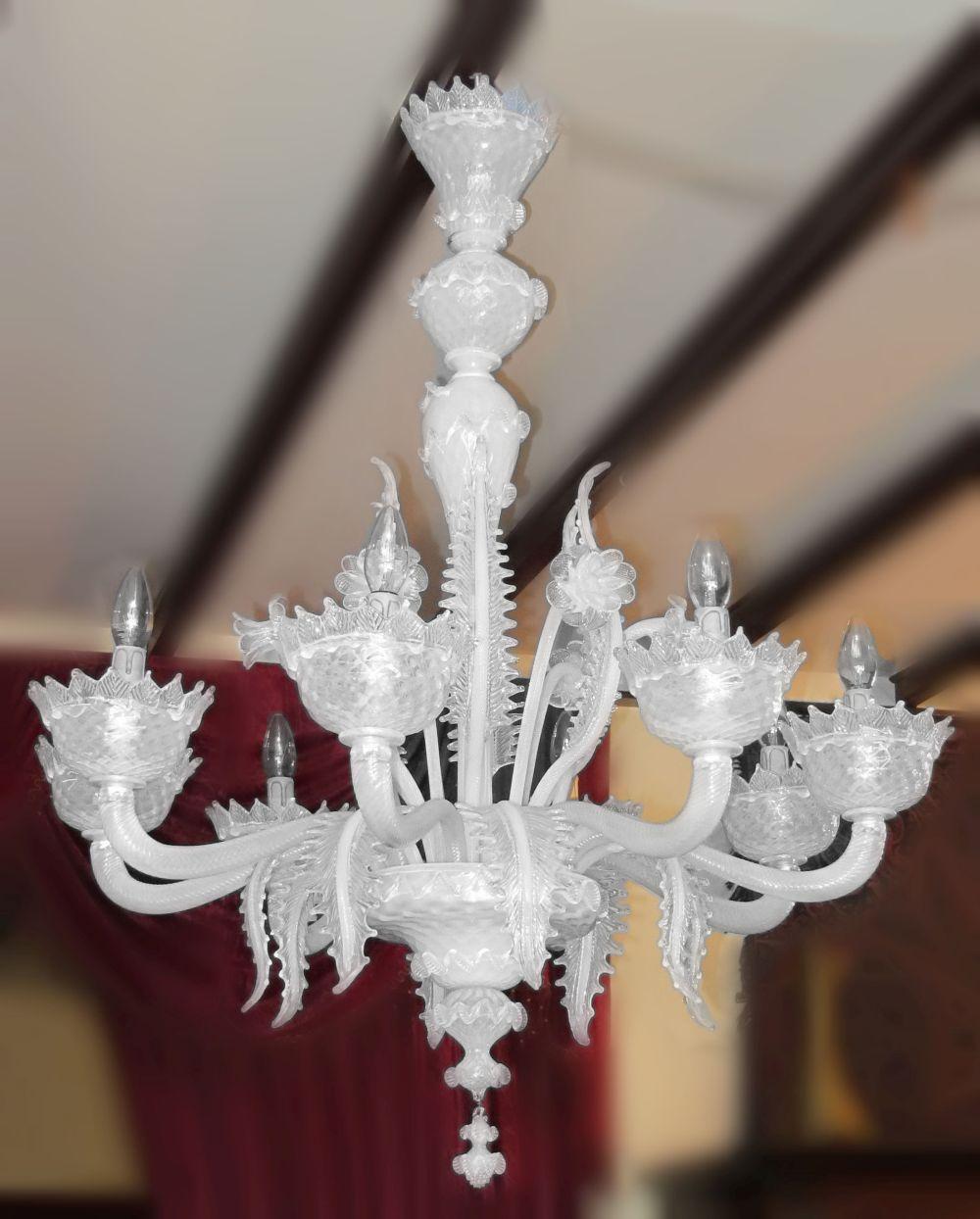 Murano 8-light hanging fixture