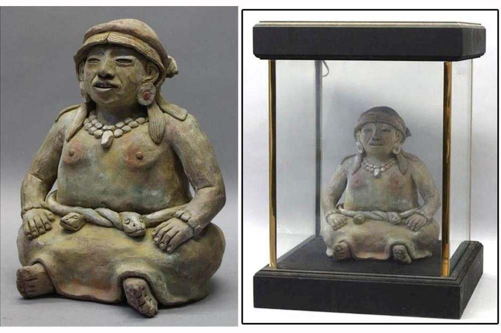Vintage terracotta sculpture
