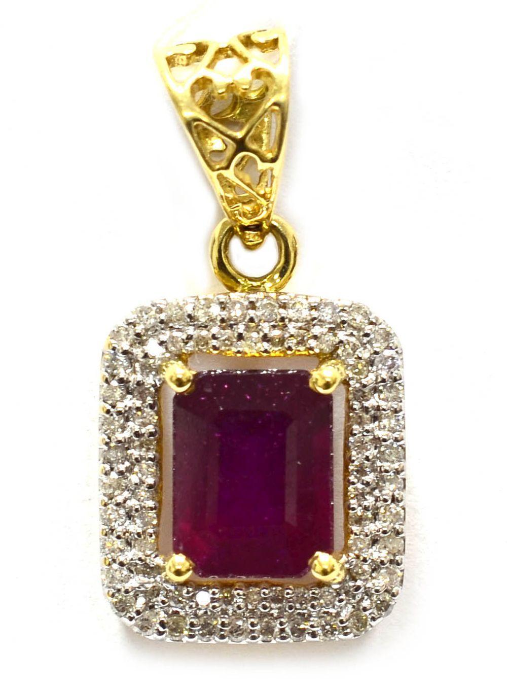 Enhanced ruby 2.95 carats