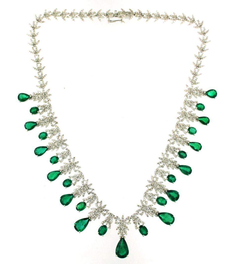 Emeralds 24.50 carats