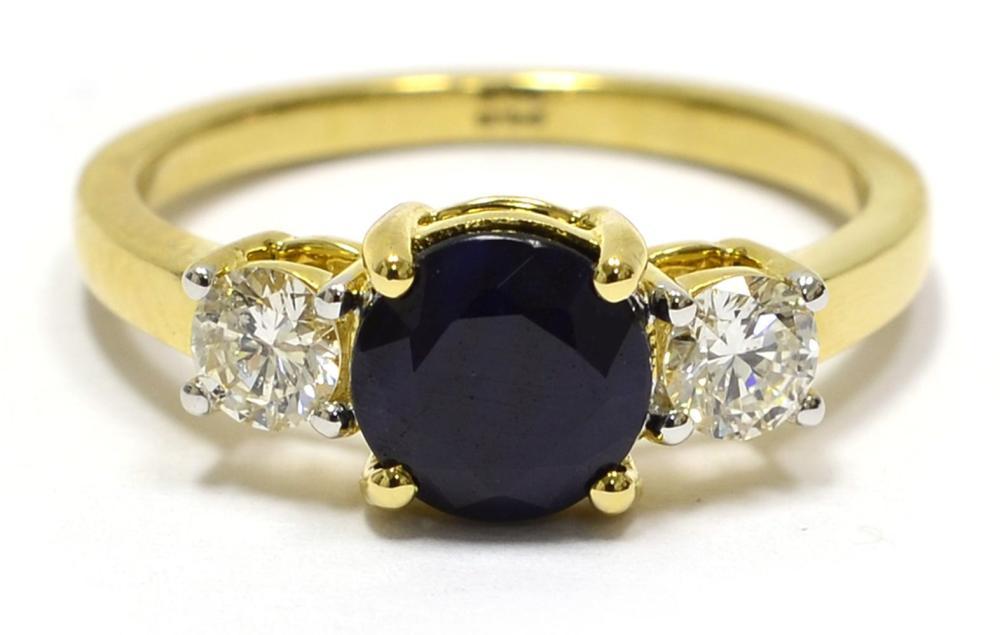 Lot 423: Sapphire 1.30 carats