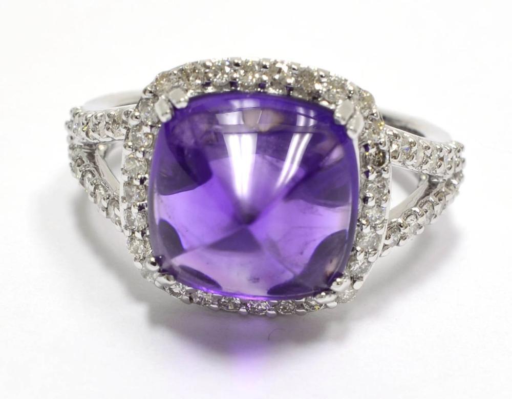 Lot 401: Amethyst 5.20 carats