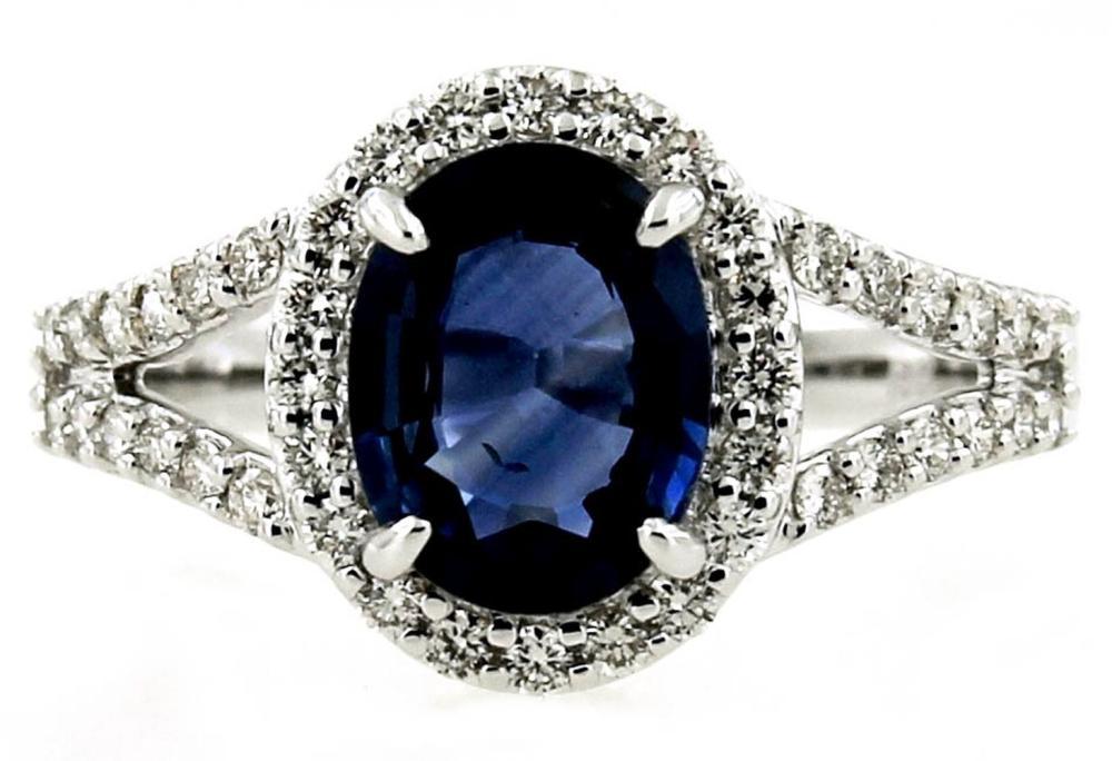 Lot 419: Sapphire 1.95 carats