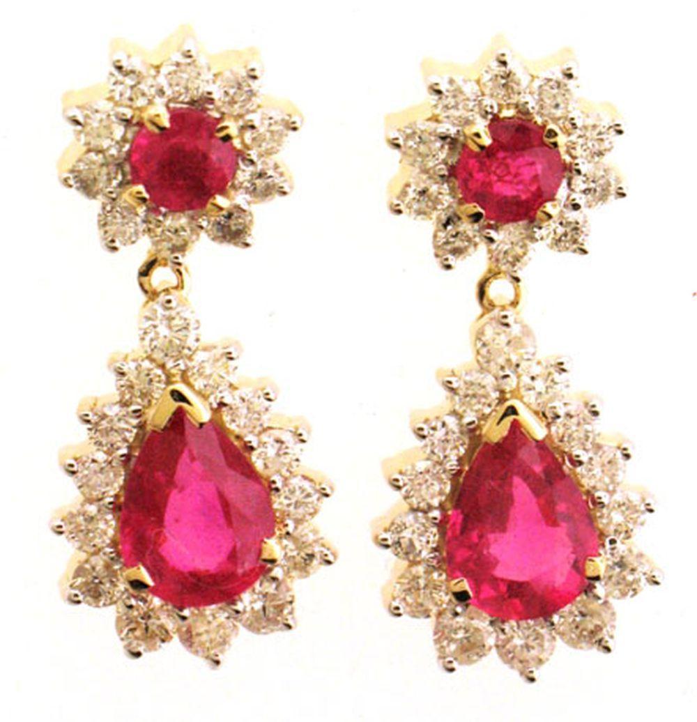 Enhanced rubies 3.25 carats
