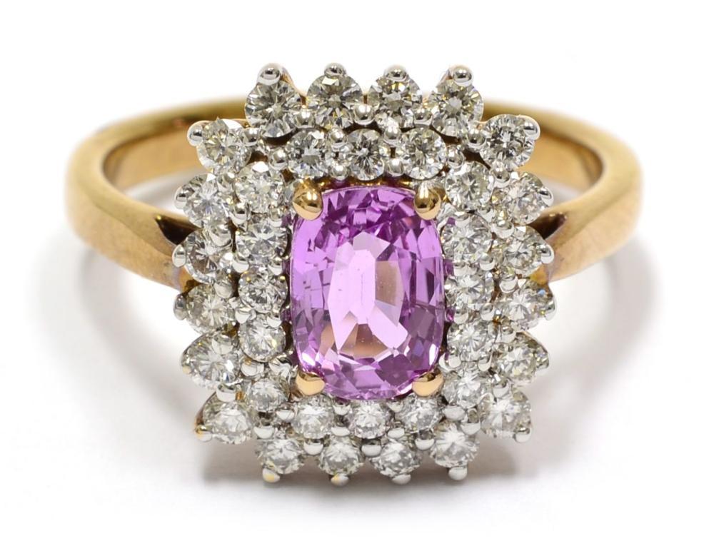 Lot 431: Pink sapphire 1.25 carat