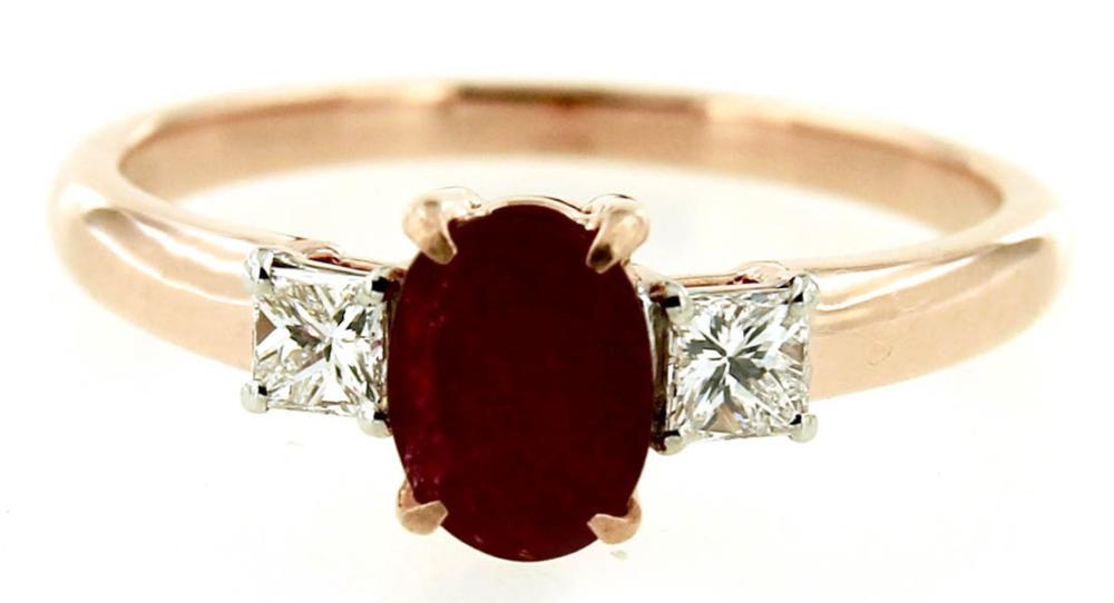 Lot 452: Ruby 1.00 carat