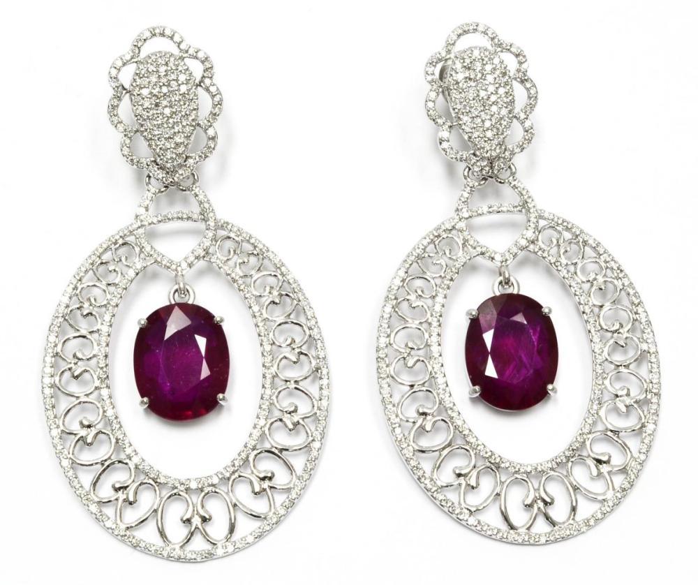 Enhanced rubies 10.70 carats