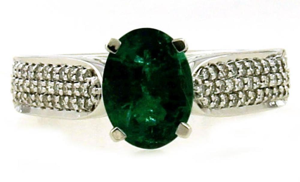 Lot 477: Emerald 1.45 carat