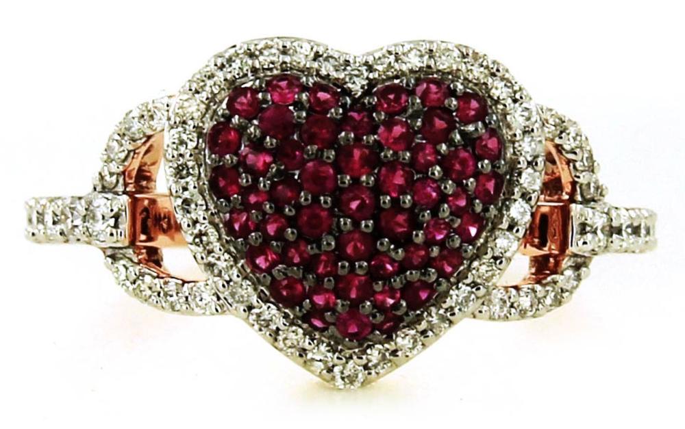 Rubies 0.45 carats
