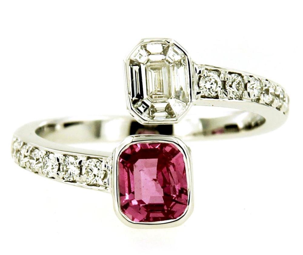 Pink sapphire 1.15 carats