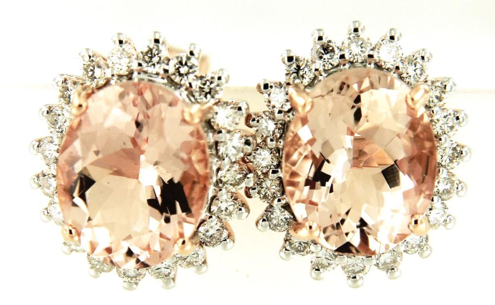 Lot 522: Morganites 4.50 carats