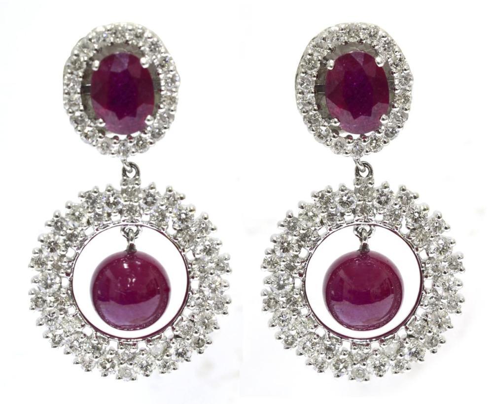 Enhanced rubies 15.70 carats