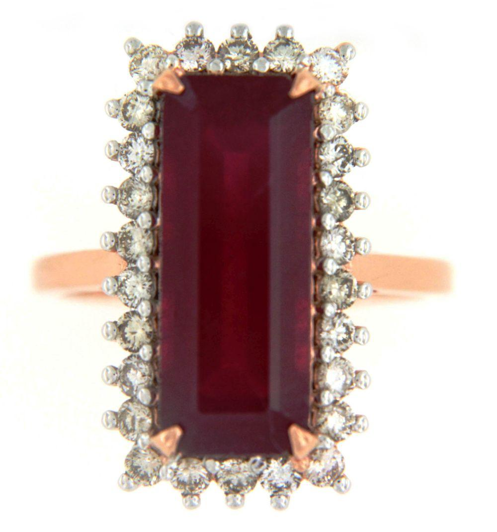 Enhanced ruby 10.20 carats